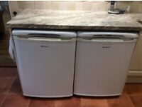Hotpoint Fridge and Freezer for sale - separate or together. LOW PRICE FOR QUICK SALE!