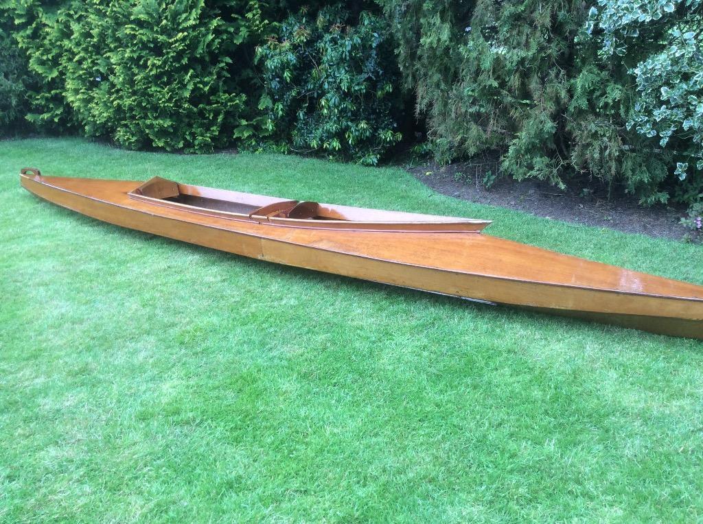Two Seater Plywood Canoe 16ft Kayel Kayak In Doune