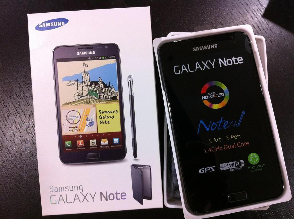 Samsung Galaxy Note1 Brand New Condition Boxed In Allerton West