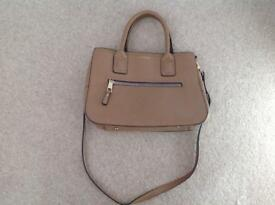 Tan Topshop tote bag