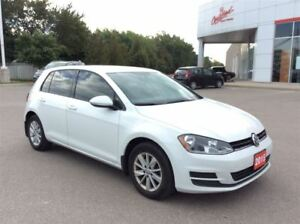 2015 Volkswagen Golf Trendline..1 owner..accident free..