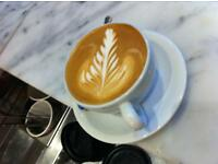 Experienced barista needed at C'est ici cafe w14 full time