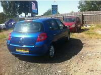 2007 RENAULT CLIO 5 DOOR 1.4 PETROL , , 1 YEAR MOT , , GOOD RUNNER , , CHEAP CAR