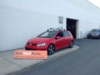2015 Volkswagen GTI Autobanh GPS, CUIR, 18 POUCES !
