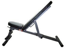 Weight Training Bench Folding & Adjustable Bench 5 in 1