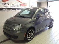 2012 Fiat 500 Sport+ Toit Ouvrant+Bluetooth+Mags