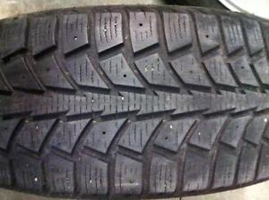 4 - Uniroyal Tiger Paw Snow Tires - 185/65 R14