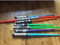 Selection of light sabres