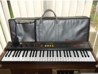 QUALITY VINTAGE ROLAND EP 09 ELECTRONIC PIANO SYNTHESIZER KEYBOARD ROALND BAG & FOOT PEDAL