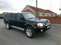 Excellent Nissan Navara 4x4 Double Cab Pickup With Full Leathers