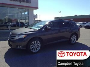 2013 Toyota Venza 2.7 L FWD HEATED LEATHER LOCAL TRADE