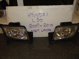 Hyundai i30 inset SPOT / FOG LAMPS