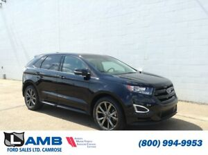 Ford Edge Sport Awd With Adaptive Cruise Intelligent Acces