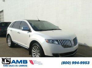 2011 Lincoln MKX AWD with BLIS, Navigation and Limited Edition P
