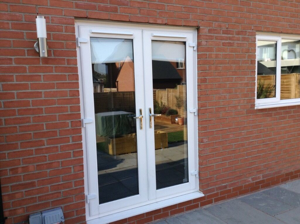 Patio doors white upvc double buy sale and trade ads for White upvc patio doors