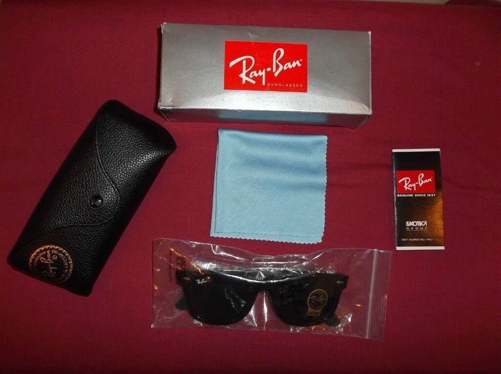 82f3911303 Ray Ban Original Wayfarer Classic Unisex Sunglasses. RB2140 902 50-22  Tortoise Shell Colour . As New
