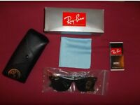 Ray Ban Original Wayfarer Classic Unisex Sunglasses. RB2140 902 50-22 Tortoise Shell Colour . As New