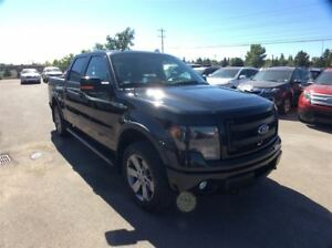 2014 Ford F-150 / FX4/ LEATHER / NAV / SUNROOF