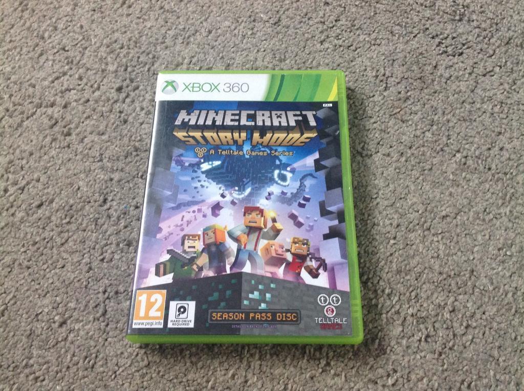 Minecraft story mode Xbox 360 now £8!!!!!!!!!