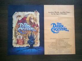 the dark crystal ' original cinema poster