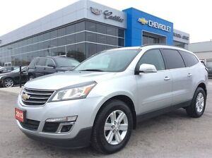 2013 Chevrolet Traverse | 8-Seater | Sunroof | Bluetooth | Rear