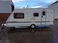 2004 ABBEY AVENTURA 320 4 BERTH TOURING CARAVAN,LOVELY CONDITION WITH EXTRAS