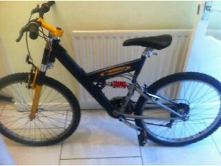 "Men's bike G force 26"" wheels ,21 shimano gears bike £35.Airdrie"