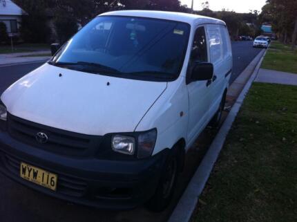 2000 Toyota Townace Van/Minivan Bankstown Bankstown Area Preview