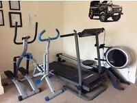Gym equipment , 4 pieces , house move forces sale