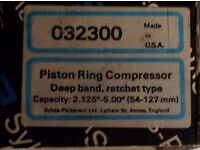 Sykes Pickavant Piston Ring Clamp (Size 54mm -127mm) Serial No. 023300