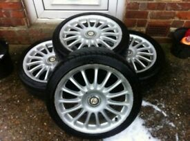 Mg alloys 17 inch X 5 4x100 7j fits other vehicles
