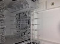 Kenmoore portable white dish washer