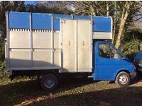 3.5 tonne horse lorry