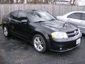 2014 Dodge Avenger BLACK BLACK !! PURCHASE AS LOW $100 DOWN !!