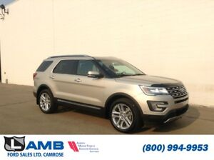 2017 Ford Explorer Limited 4WD with Moonroof, Lane Departure and