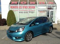 2012 Honda Fit Sport * Manuelle * Mags * A/C * Bluetooth