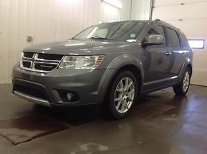 2012 Dodge Journey R/T Loaded with Rear DVD and Extended Warrant Edmonton Edmonton Area image 2
