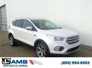 2017 Ford Escape Titanium 301A 2.0L Ecboost Moonroof Navigation
