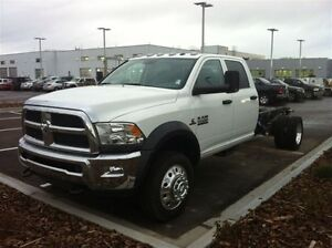 2013 Ram 5500 HD Chassis CREW CAB 4WD ST
