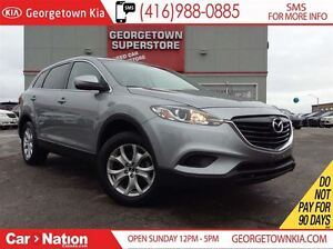 2014 Mazda CX-9 GS LEATHER| ROOF| AWD| BACK UP CAM