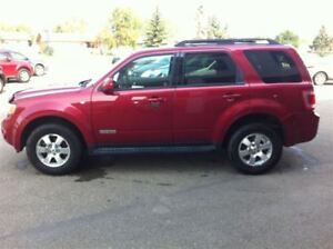 2008 Ford Escape Totally Loaded LIMITED Package