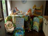 Jungle Safari nursery bundle