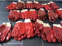 Gardening gloves.