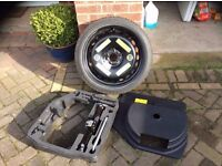 Audi A4 Space Saver, Tool Tray, Tools and Cover