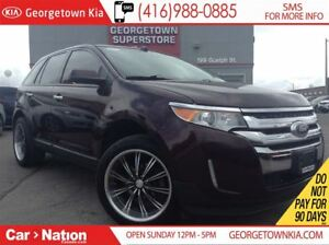 2011 Ford Edge SEL BIG RIMS| LEATHER | PANO ROOF | NAVI| BACK CA