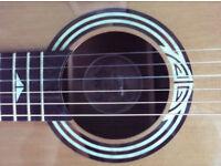Luna Guitars ART DECO NYL Artist Deco Nylon Acoustic Electric Guitar