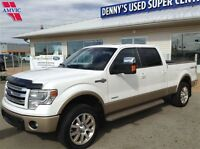 2014 Ford F-150 S/CREW 4X4 KING RANCH ECO 36750KM