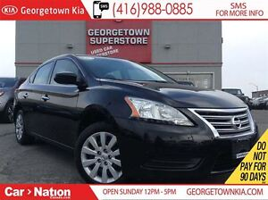 2015 Nissan Sentra 1.8 S | POWER OPTIONS | 1.8L | AUTOMATIC |