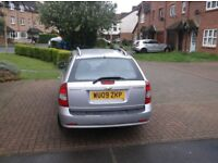 Chevrolet Lacetti 1.8 sx automatic estate,2009 ,10 months mot, genuine 46,000 miles,a/c alloys em ew