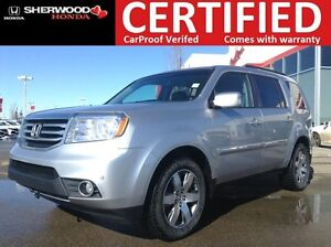 2014 Honda Pilot Touring 4WD | REMOTE START | FOG | HEATED LEATH